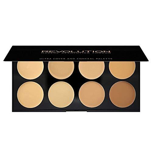 MAKEUP REVOLUTION Ultra Cover & Conceal Palette Light, 10 g