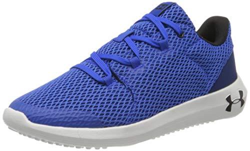 Under Armour Zapatillas de running para Unisex niños, Azul (Versa Azul/White/Black 400), 35.5 EU