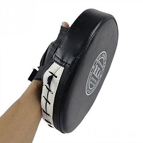 Icetek Sports Punch Mitt Boxing Training Target Focus Pad Gloves, Black