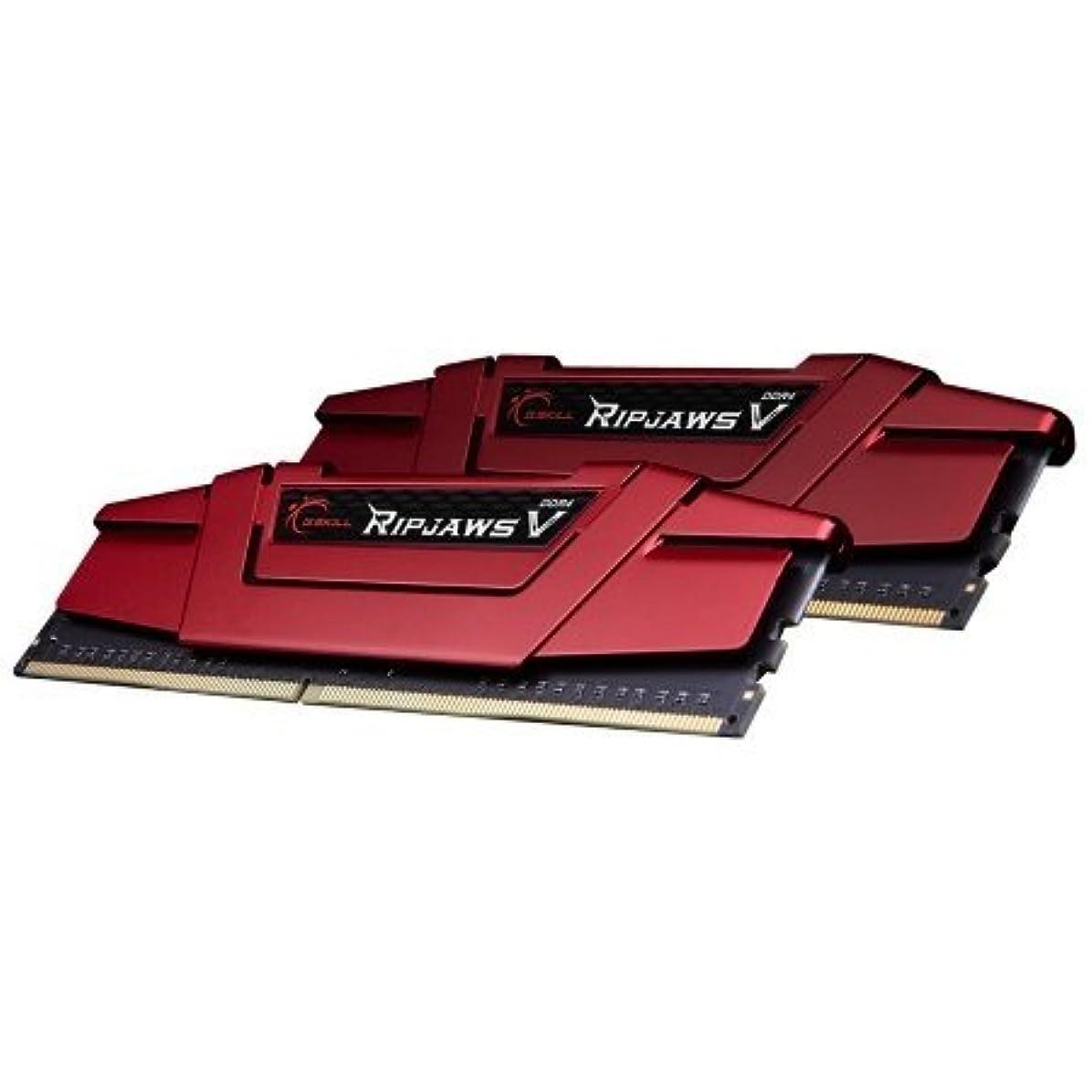 屋内薬理学すみませんG.SKILL 32GB (2 x 16GB) Ripjaws V Series DDR4 PC4-22400 2800MHz for Intel Z170 Platform Desktop Memory Model F4-2800C15D-32GVR by G.Skill [並行輸入品]