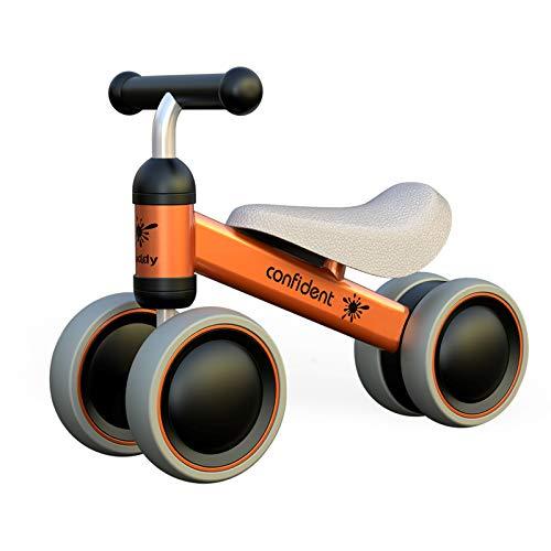 XIAPIA Bicicletta Senza Pedali per Bambini Bici Senza Pedali 1 Anno Triciclo Bicicletta Equilibrio Bici per Bambini Forma di Animale Carino Il Regalo Preferito del Bambino