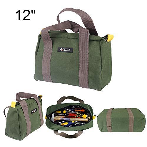 Hoomall Leinwand Multifunktions Werkzeugtasche Hand Tragbare Große Kapazität Tasche Elektriker Organizer mit Reißverschluss Speicherzubehör