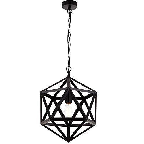 Wings of Wind® à suspendre Suspension industriel Edison Drop lampe avec 1 ampoule E27 pour gratuit