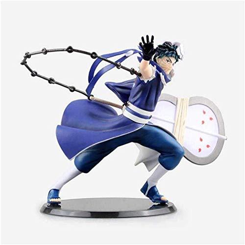 lkw-love Obito Uchiwa Naruto Shippuuden Xtra Figur Figur PVC - Naruto Statue Dekoration Geschenk - Ausgestattet mit Waffen