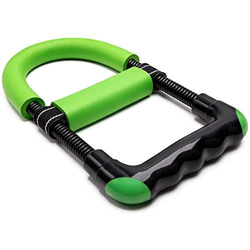 Handgelenk-Trainingsgerät, Unterarmtrainer, Handtrainer, Armtrainer, Heimtrainer, Trainingsgerät, Handgriff, Krafttrainer, erhöht die Muskelkraft (Farbe: Grün)