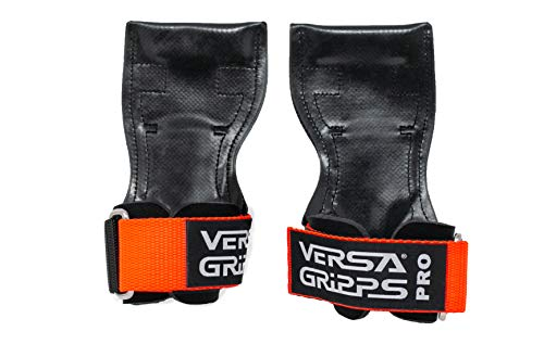 Versa Gripps PRO Authentic. The Best Training Accessory in The World. Made in The USA (MED/LG-Orange)