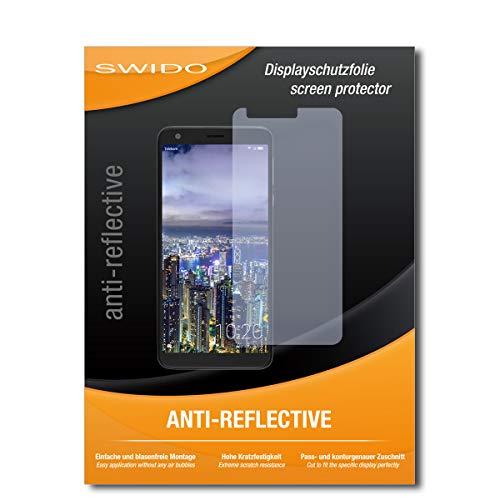 SWIDO Bildschirmschutz für Sharp Aquos B10 [4 Stück] Anti-Reflex MATT Entspiegelnd, Hoher Festigkeitgrad, Schutz vor Kratzer/Glasfolie, Schutzfolie, Bildschirmschutzfolie, Panzerglas Folie