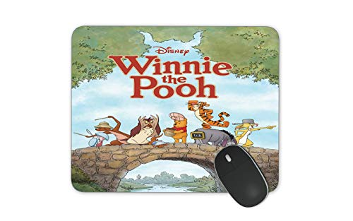JNKPOAI Disney Series Animation Mouse Pad Winnie The Pooh High-Definition Printed Mouse Pad Office Anti-Slip Computer Game Mouse Pad (Winnie The Pooh)