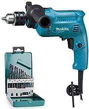Makita 16mm Hammer Drill M0801BX2 with Metal Drill Bit Set (13 pcs.)