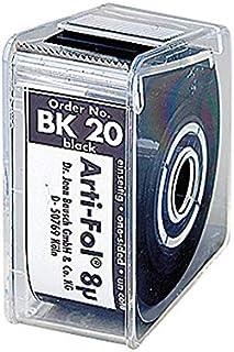 プレミアムプラスジャパン 8μ咬合紙アルティ・フォル ロールケース・片面 黒 BK20