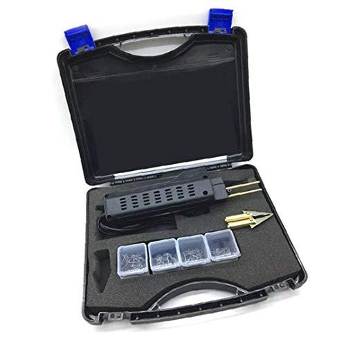 Gracy Reparación Auto de Choque Fender carenado Soldador de Herramientas de plástico Kit 220V para máquinas de Soldadura Reparación Negro Herramienta, Herramientas de Soldadura electrónica