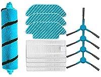 掃除機部品HEPAフィルター交換部品CecotecConga 5090に適合Conga4090ロボットに適合ロボット掃除機メインブラシサイドブラシモップアクセサリー(色:8個) 絶妙な (Color : 3set)