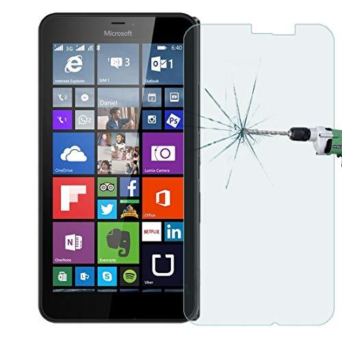 Mobile Phone Tempered Glass Film 50 PCS Microsoft Lumia 640 XL 0,26 millimetri 9 H superficie durezza 2.5D a prova di esplosione pellicola di vetro temperato, nessun pacchetto di vendita al dettaglio