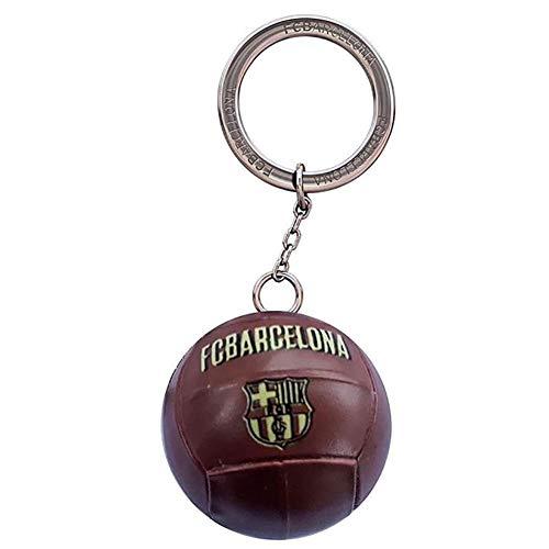 Llavero F.C. Barcelona Balón Vintage