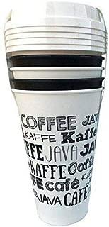 Aladdin 4 Reusable To-Go Cups Fresh Coffee White