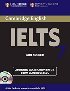 Cambridge IELTS 7 Self-study Pack (Student's Book with Answers and Audio CDs (2)): Examination Papers from University of Cambridge ESOL Examinations (IELTS Practice Tests)