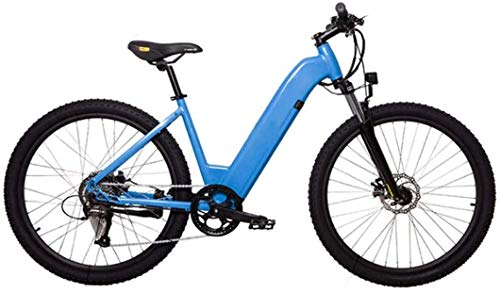 LJ Electric Bikes for Adult, Magnesium Alloy Ebikes Bicycles All Terrain, 27.5' 36V 250W Removable Lithium-Ion Battery Mountain Ebike, for Mens Outdoor Cycling Travel