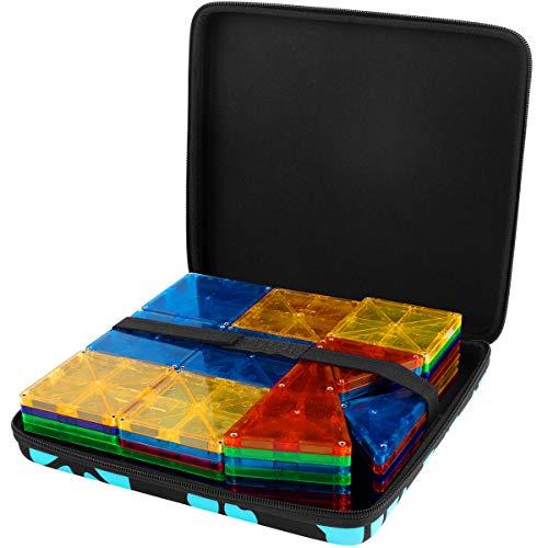 Tasche fur Tecboss LCD Schreibtafel Bunter Bildschirm, löschbare elektronische Digitale Zeichenblock Doodle Board, Geschenk für Kinder Erwachsene Home School Office (Schwarz, 8,5 Zoll)