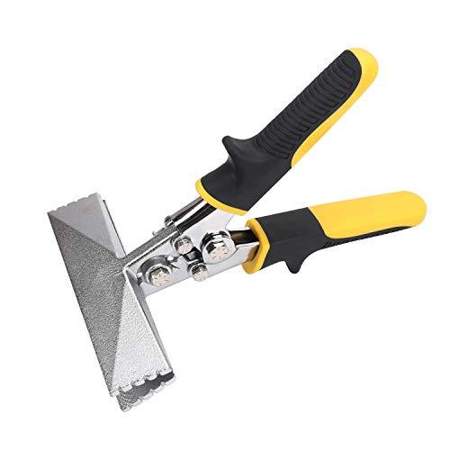 Hurricane 6 Inch Jaw Straight Sheet Metal Seamer Ergonomic Handle