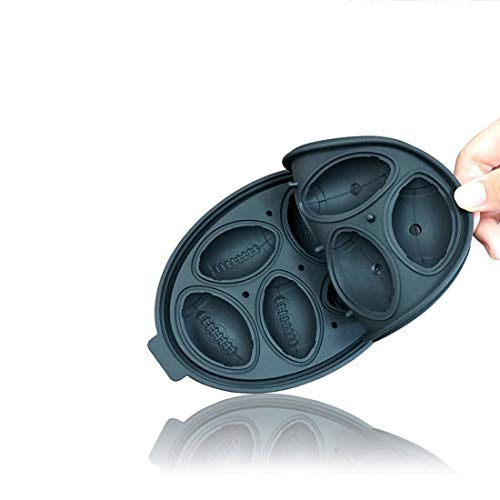 SmartProtectors! Eiswürfelform/Eiswürfelschale aus Silikon/Lustige Eiswürfel - im Play Off Football Design