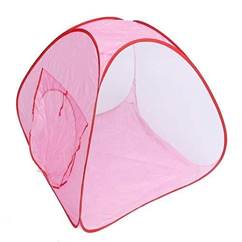 Carpa al Aire Libre,Carpa 90 X 90 X 80cm Carpa Tipi Plegable para Interiores Carpa para niños Actividad portátil Casa de Hadas