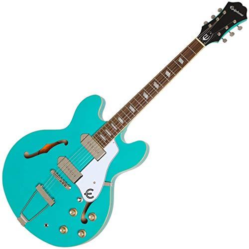 Epiphone Casino Hollow Body elektrische gitaar - Turkoois