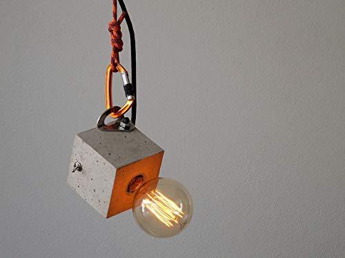 Hängelampe Tischlampe cubo/arco! die Betonlampe