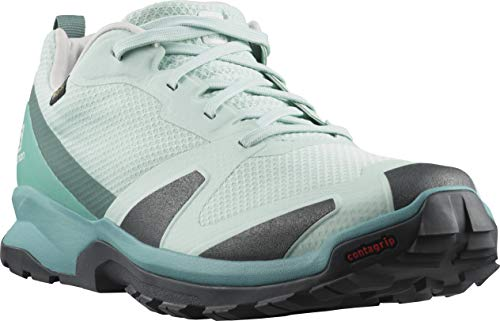 Salomon XA COLLIDER GTX W, Zapatillas de Trail Running Mujer, Azul (Icy Morn/Lunar Rock/North Atlantic), 45 1/3 EU