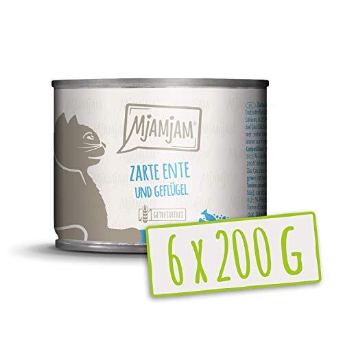MjAMjAM - Zarte Ente & Geflügel an leckeren Möhrchen 6 x 200 g