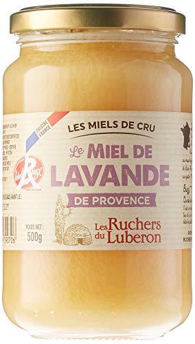 Les Ruchers du Luberon Miel de Lavandede Provence Igp Label Rouge, 500g