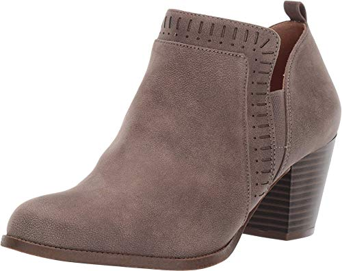 LifeStride womens Jovie Ankle Boot, Ash, 7.5 US