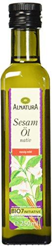 Alnatura Bio Sesamöl nativ, 250 ml