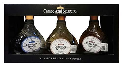 Tequila 3 Generaciones marca CAMPO AZUL SELECTO