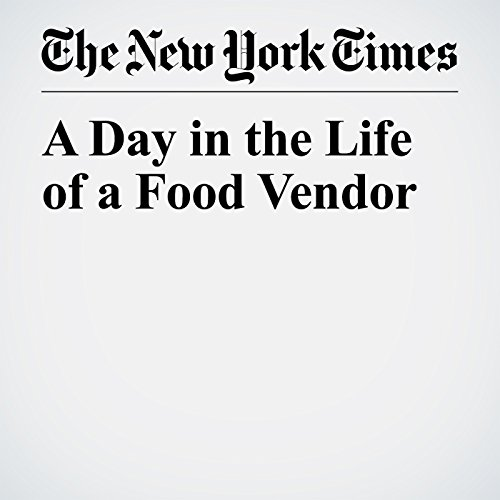 A Day in the Life of a Food Vendor copertina