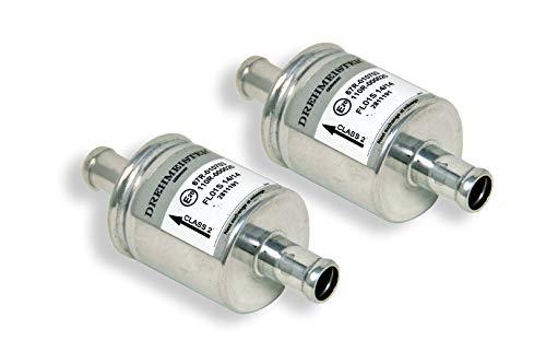 2 x Gasfilter FL01S 12x12mm - Filter für Autogas, LPG/CNG Gasanlagen - universell einsetzbar für alle Fahrzeuge und Gasanlagen (z.B. KME, BRC, Stag u.a.)