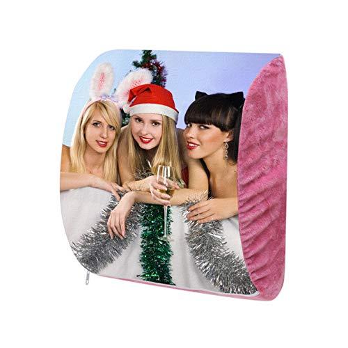 e'w'r'w'erwerwe Almohada Foto Personalizada Cojín La Cintura Almohada Pareja Cojín para Silla Imágenes Almohada Núcleo Regalo Cumpleaños De Navidad(Rojo 39 * 29 * 10CM/15 * 11 * 4IN)