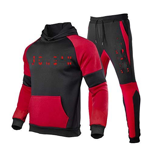 Hombres Sudadera Casual Deportes Confort Traje de los Hombres Traje de Deportes