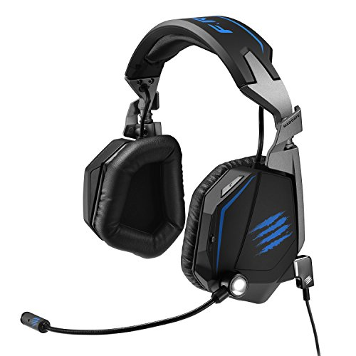 Mad Catz F.R.E.Q. TE - 7.1 Gaming Headset für PC und PS4 - Matt Black