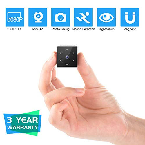 Cheap Mini Spy Camera, FayTun 1080P Full HD Hidden Camera, Mini Nanny Camera with Night Vision and M...