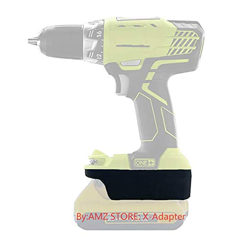 Battery Adapter for Ryobi 18V Cordless Tools Uses DeWalt 20V MAX XR Li-Ion Batteries, with 5V 2.1A MAX USB Charge Port-US Stock