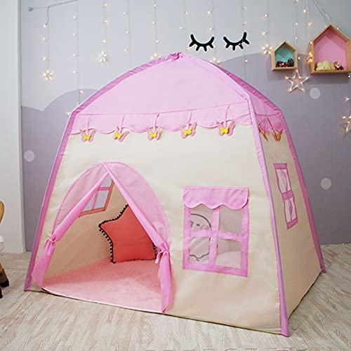 Naticy Tienda plegable de los niños, tienda portátil de la cama de los niños de la tienda de campaña grande de los niños de la casa de juegos