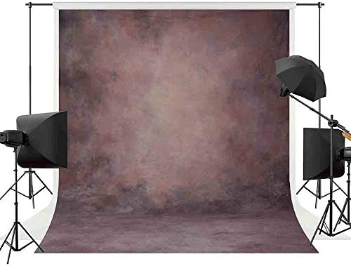 Allenjoy Professional Portraits Photography Backdrop 6 5x10ft Purple Pink Muslin Abstract Texture product image