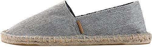Alexis Leroy Pureness Textile Men's Flat Espadrilles Gray 8-8.5 M US