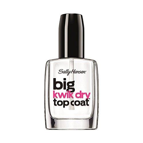 Sally Hansen Big Kwik Dry Top Nail Coat Treatment, 0.4 Fluid Ounce