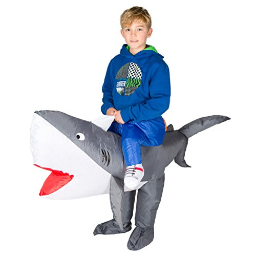 Bodysocks® Disfraz Hinchable de Tiburón Niño