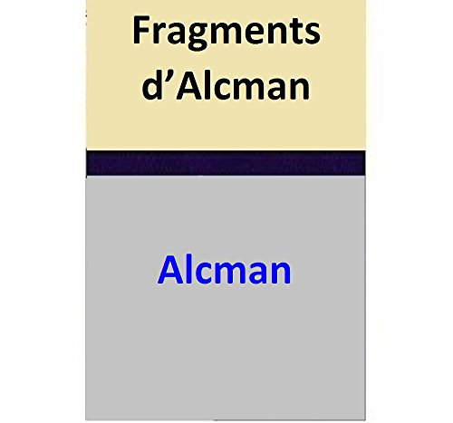 Fragments d'Alcman (French Edition)