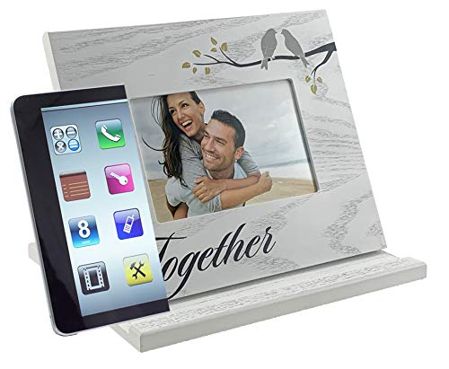 PixPad - Together: All-in-One Adjustable Tablet Stand I Phone Stand I Book Stand I Picture Frame I for iPad, Tablet, E-Reader, Book, and Phone.