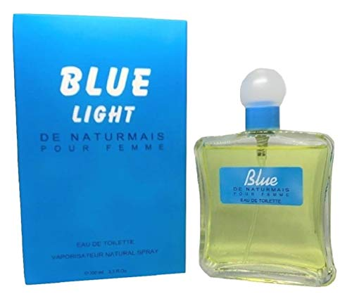 Blue Light Eau De Parfum 100 ml, Profumo Donna. Compatibile con Light Blue Dolce & Gabbana Donna