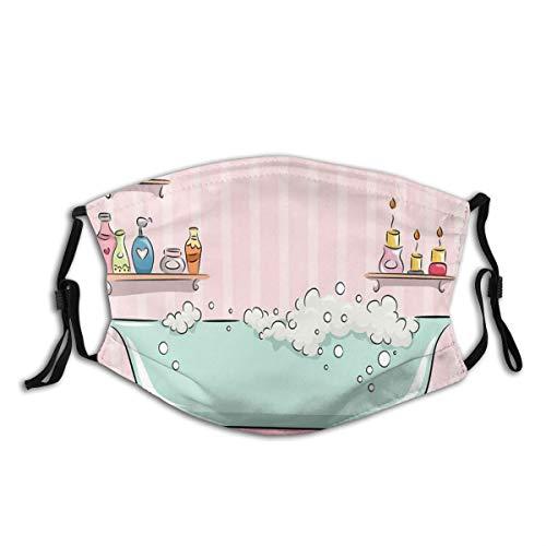 CIKYOWAY Eine Badewanne mit Blasen in Girly Room Aroma Oil Aromatherapy Wiederverwendbare und waschbare zum Laufen, Radfahren, Skifahren, Outdoor-Aktivitäten (3PCS)