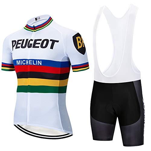 Bike Vêtements de Cyclisme avec Cuissard rembourré en Gel pour vélo de Route VTT